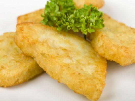 Картофельные треугольники с травами