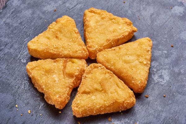 Запеченные картофельные треугольники с пряными травами ► 1