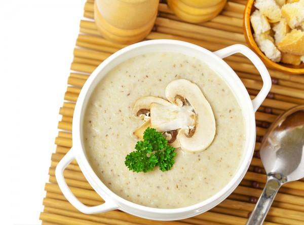 приготовить крем суп из шампиньонов