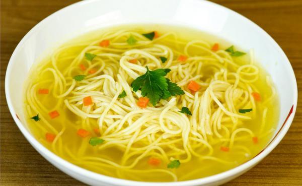 приготовить куринный суп лапша