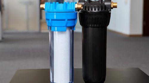 Магистральный фильтр для очистки воды из скважины